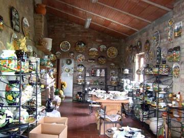 イタリア職人の手作りテラコッタ表札