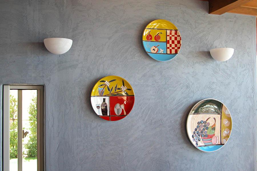 ダイニングの飾り皿