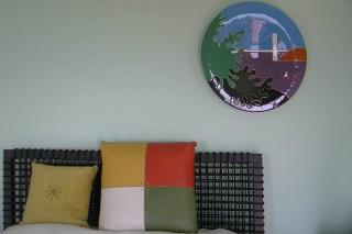 寝室のインテリア飾り皿