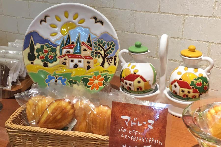 ケーキ屋さんのトスカーナ食器