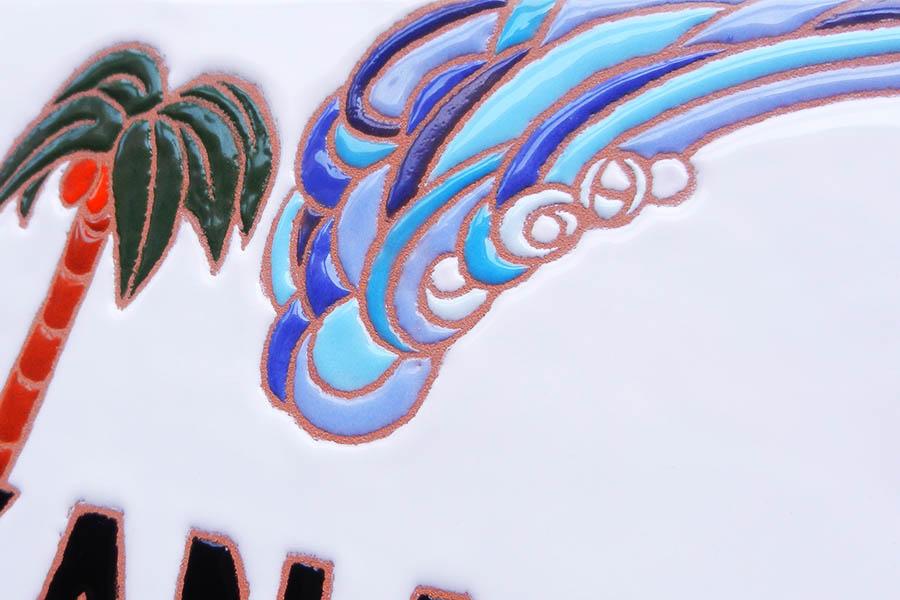 サーフィン表札