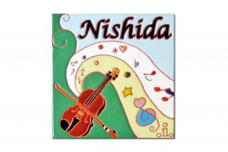 バイオリン教室の看板