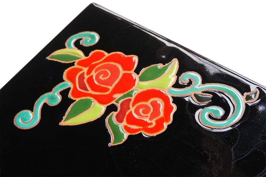 バラの表札