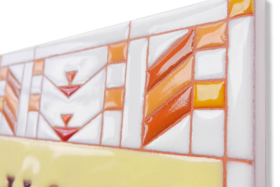 モダンでオシャレなタイル表札