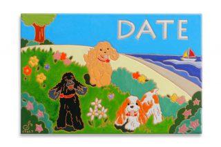 愛犬デザインのオリジナル表札