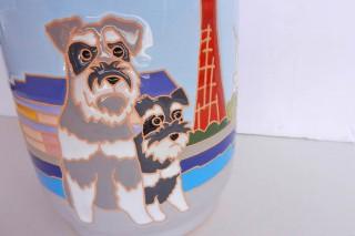 ペットのデザインの花瓶