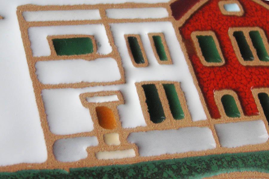 マイホームのデザインの表札
