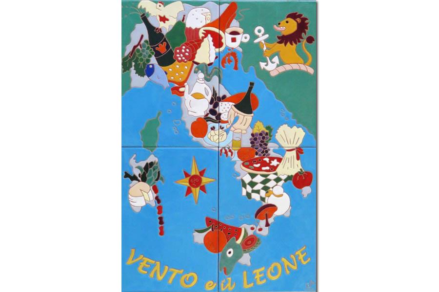 イタリアン創作料理店の看板