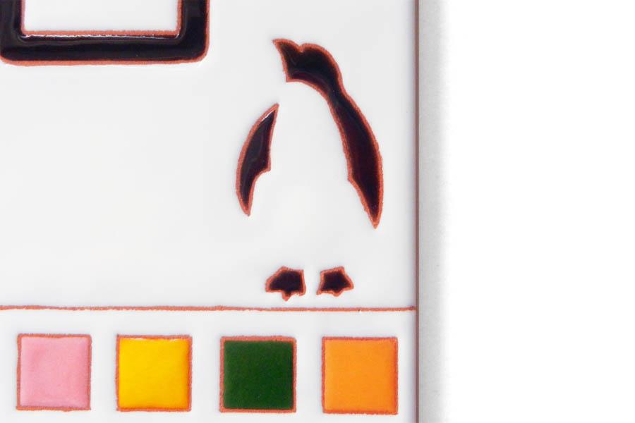 ペンギンの表札