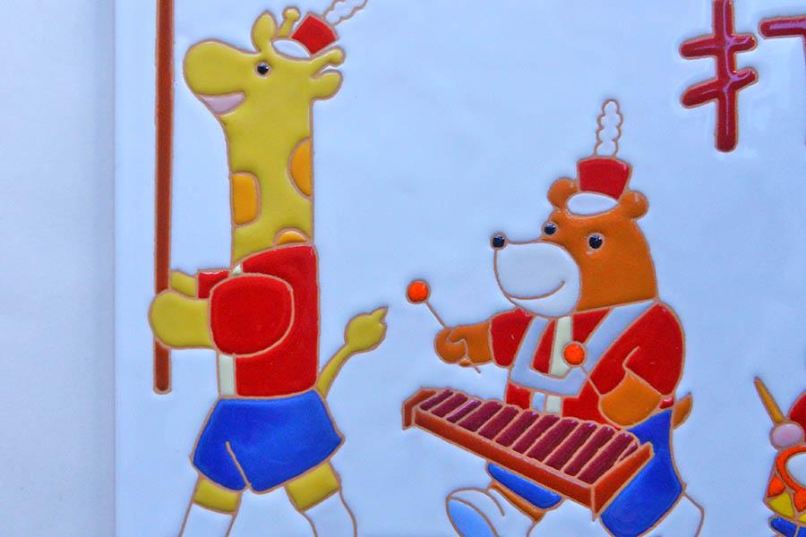 マリンバ打楽器教室の看板