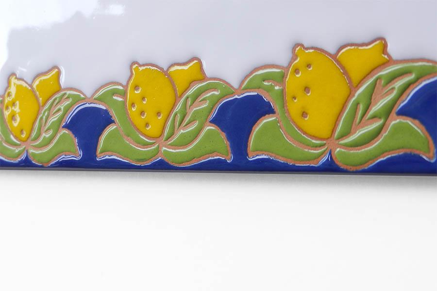南欧風レモン表札