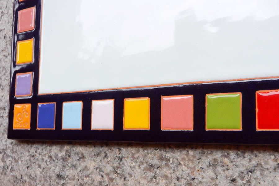 モザイクタイル風タイル表札