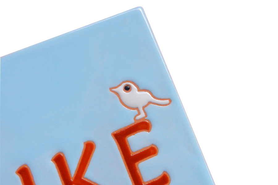 コトリの可愛いタイル表札